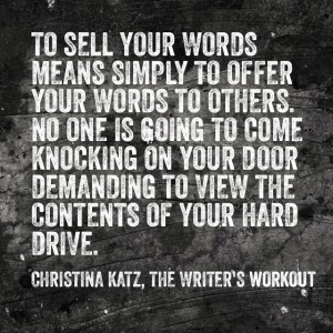 Offer Your Words To Others #inspirational #quote by Christina Katz