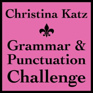 Christina Katz Grammar & Punctuation Challenge