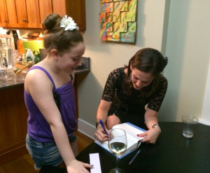 Samantha Katz and Rachel DeWoskin