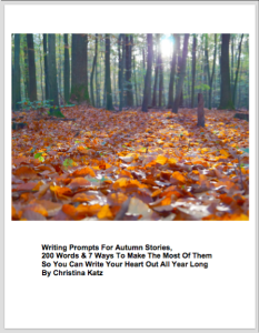 Writing Prompts For Autumn Stories 2/16 Web Image
