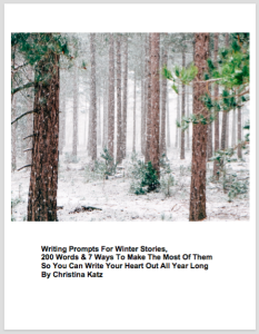 Writing Prompts For Winter Stories 2/16 Web Image