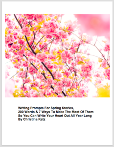 Writing Prompts For Spring Stories 2/16 Web Image
