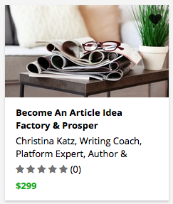 Become An Article Idea Factory & Prosper