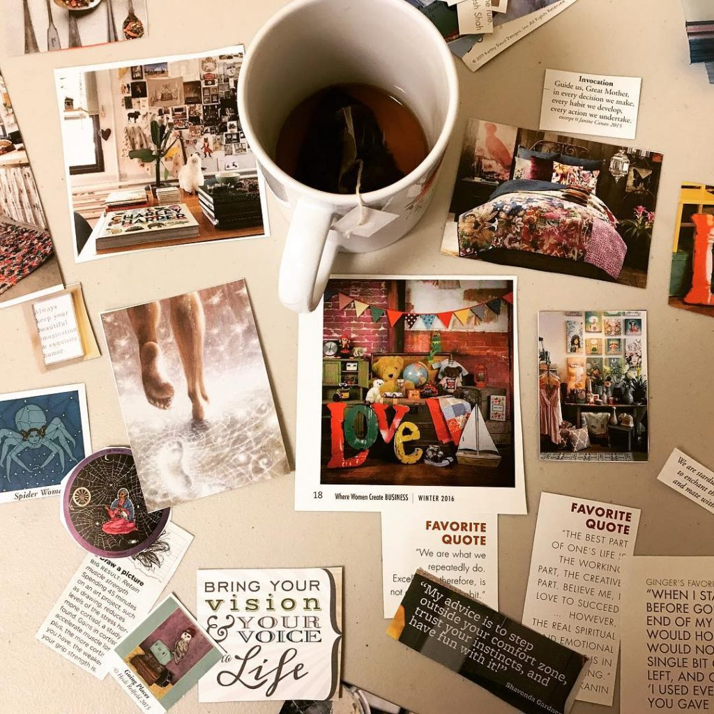 Collaging For Self-discovery Accountability Group With Christina Katz